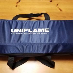 バッグ:ユニフレーム焚き火ツールBOX(青色)