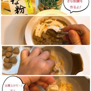 【食が細い老犬に!】栄養満点☆介護食のきな粉餅(※動画あり)
