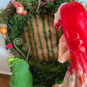 異世界への扉、妖精の扉。森の錬金術師の作品。