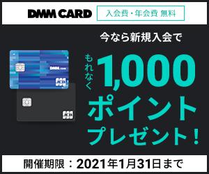 DMMカードの審査は緩め!ユーザーはポイント還元が高い!