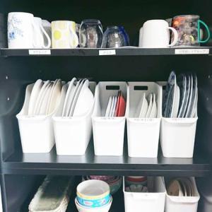 【ご依頼】整理収納サポート 食器棚・シンク下