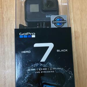 初期不良のため新品交換となったGo Pro HERO7 Blackが届いたので開封レビューします。