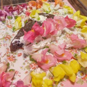 7月24日  お花ケーキ