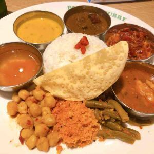 スリランカカレーがルーツの『ポンガラカレー』で5種類のスパイスカレーを食べた話
