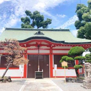 素戔嗚尊と八幡神をご祭神とする堺市北区にある『長曽根神社』