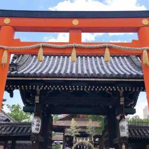 京都市中京区 御霊の祟りを鎮めるために創建された『下御霊神社』美味しい井戸水『御霊水』が評判。