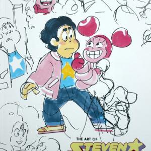 映画版公式アートブック The Art of Steven Universe The Movie