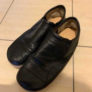お気に入りの靴と修理靴