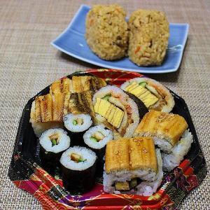 穴子三昧の盛り合わせのお寿司が食べたくて~~具だくさん汁物とおつまみいっぱい