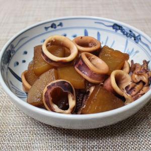 イカと大根の煮物・・・サッパリ焼き豆腐