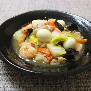 八宝菜は野菜たっぷり栄養満点!!うずらの玉子が美味しい♪