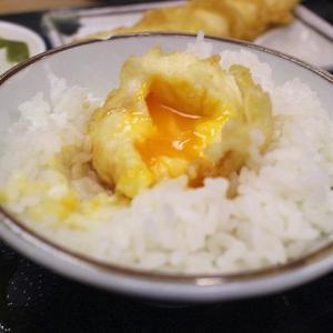 連休最終日の外食は天ぷら屋さん