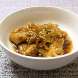 鶏肉のマーマレード煮とおつまみ