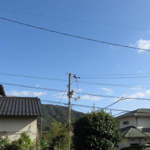広島の空はやっと青空に/2019/10/13