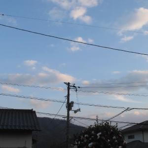 広島の空は綺麗ですよー/青空が綺麗ですよー/2019/12/14