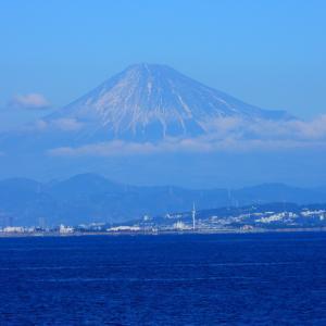 富士山 中途半端な冠雪