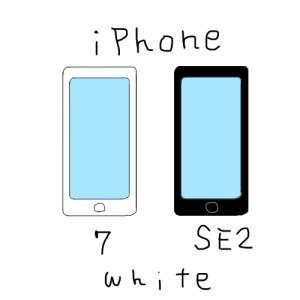 iPhone7からSE2に