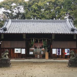 【神社仏閣】二ノ宮神社(にのみやじんじゃ)in 枚方(実家の近くの神社)