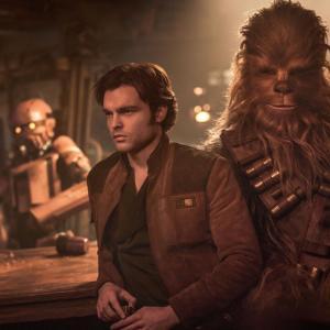 【映画】「ハン・ソロ/スター・ウォーズ・ストーリー(Solo: A Star Wars Story)」(2018年) 観ました。(オススメ度★★☆☆☆)