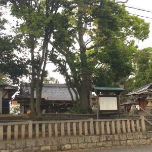 【神社仏閣】郡津神社(こうづじんじゃ)in 交野市(実家のちょっと近くの神社)