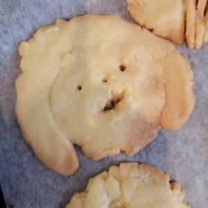 レシピ★型とオーブンがなくても作れる簡単クッキー