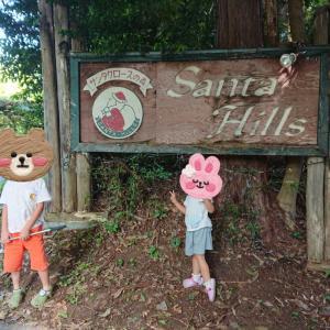 サンタクロースの森「サンタヒルズ」オートキャンプ場に行ってきたよ♪1日目☆彡