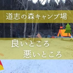 冬キャンプ『雪の道志の森キャンプ場』ソロキャンでコスパ、大自然、直火が最高!! 良いところ/悪いところ レビュー