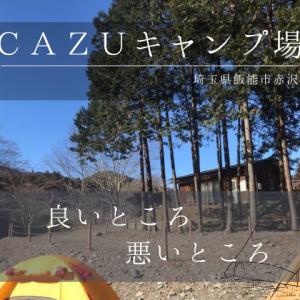 薪使い放題!『cazuキャンプ場』レポート ソロキャンプ 良いところ/悪いところ