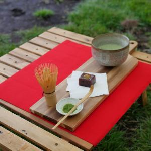 【キャンプで野点(のだて)】お抹茶で和風キャンプをしてみよう♪
