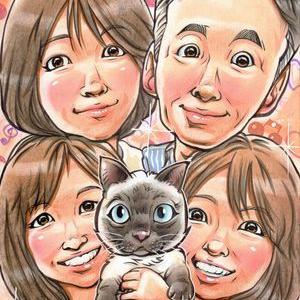 家族とネコちゃん