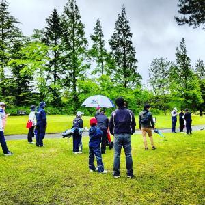 秋田県のジュニアゴルファーも頑張ってます!