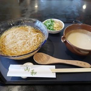 夏の奈良旅行2 三輪で素麺食べて帰宅