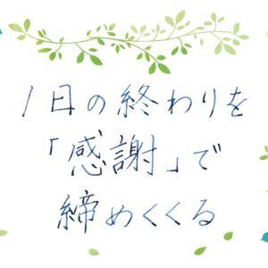 『ありがとう』はいっぱい転がっている~マインドフルネスの練習8~