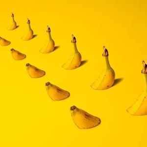 バナナ は うつ病改善に効きます。4つの効果。