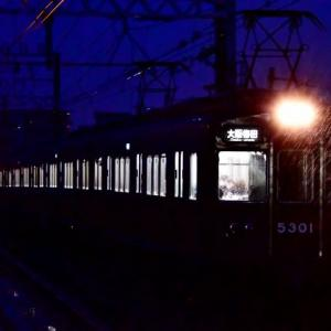 2020年12月28日阪急京都線早朝ダイヤ撮影~上新庄~