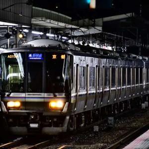 7/16夜練JR大阪環状線・JR京都線・JR神戸線