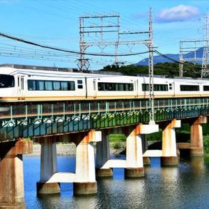 近鉄山田線宮川鉄橋で三重交通復刻塗装・アーバンライナーなどを撮る