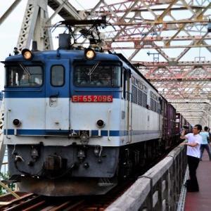 【タイムトリップ】2013年9月14日5087レ城東貨物線赤川鉄橋