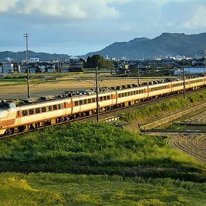【タイムトリップ】2009年9月20日489系急行能登/北陸本線高岡~西高岡間