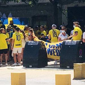 UEFA欧州選手権 スペイン対スウェーデン en セビージャ