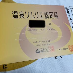 【資格】温泉ソムリエ資格を取得!受講予約と内容について!