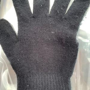 手袋を失くしました。。