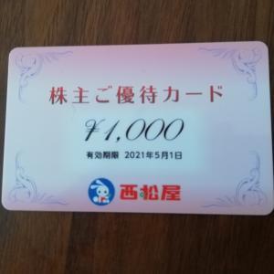 【株主優待】西松屋(7545)で子供服を購入しました
