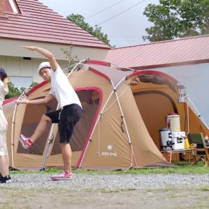 令和2年度13回目キャンプ 〜テント浸水の巻〜