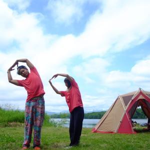 令和2年度9回目キャンプ 〜道南にある東大沼公園〜 大自然の中にある無料キャンプ場