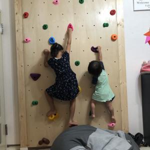 【ボルダリング壁を自宅でDIY!賃貸でも穴あけ不要で作れます!!】( 3/3作業開始~完成まで)