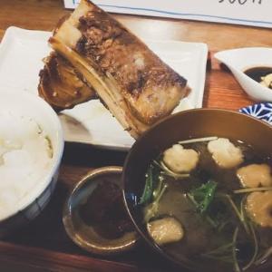 お酒とご飯 たく(鮪カマ焼き定食)