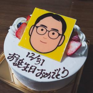 誕生日ケーキ(パティスリー・ショコラトリー サンニコラ本店 :石川県野々市市)