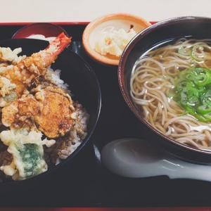 完熟うどん処 獅子家(天丼あわせ:うどん→年越し蕎麦に変更)
