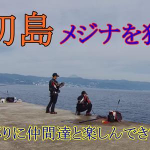 2021.9.12~9.13 大物に翻弄されるも、やっぱり楽しい初島釣行